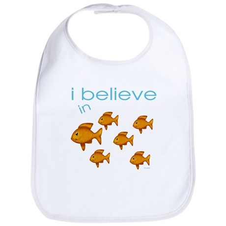 I believe in fish Bib