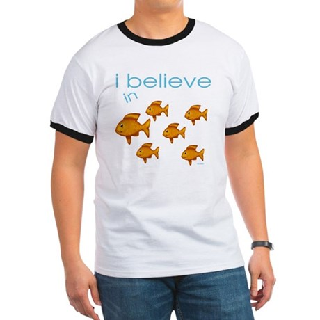 I believe in fish Ringer T