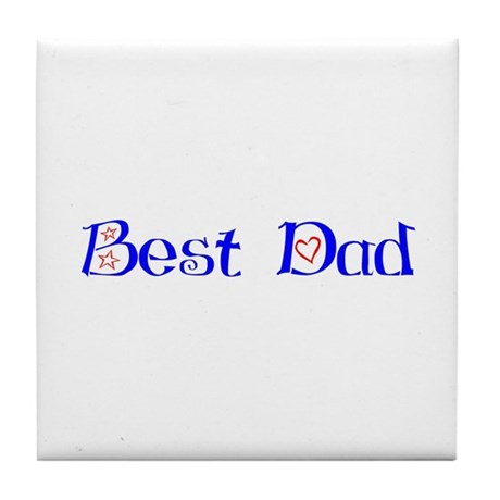 Best Dad Tile Coaster