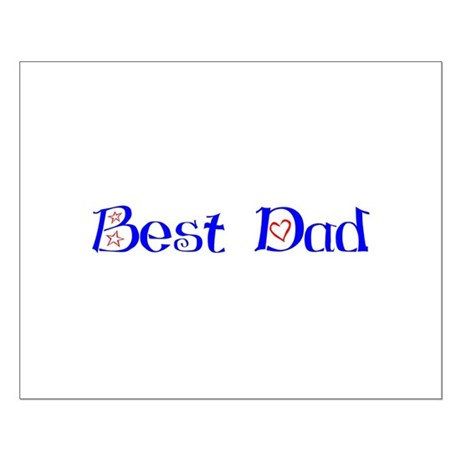 Best Dad Small Poster