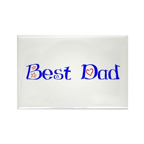 Best Dad Rectangle Magnet (10 pack)