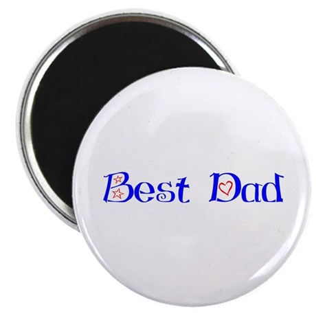 "Best Dad 2.25"" Magnet (100 pack)"