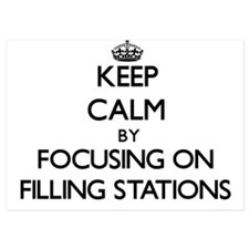Keep Calm by focusing on Filling Stati Invitations