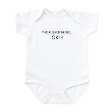 Rubber Broke Infant Bodysuit