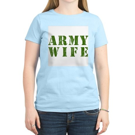 Army Wife Womens Light T-Shirt