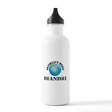 World's Best Deandre Water Bottle