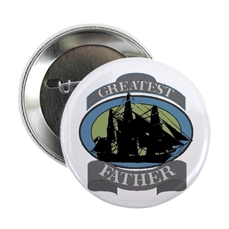 "Greatest Father 2.25"" Button (100 pack)"