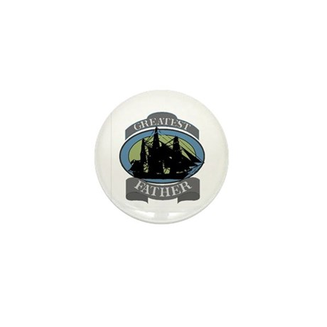 Greatest Father Mini Button (100 pack)