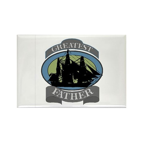 Greatest Father Rectangle Magnet (100 pack)