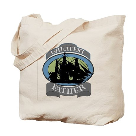 Greatest Father Tote Bag