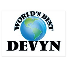 World's Best Devyn Invitations