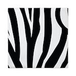 Zebra Striped animal Queen Duvet