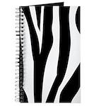 Zebra Striped animal Journal