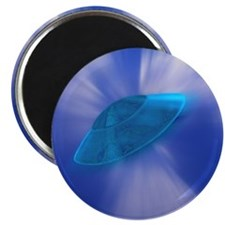 "Warp Speed UFO 2.25"" Magnet (10 pack)"