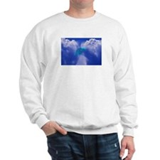 Warp Speed UFO Sweatshirt (Front & Back Images)