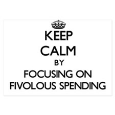 Keep Calm by focusing on Fivolous Spen Invitations