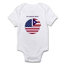 Quarter Rican Infant Bodysuit