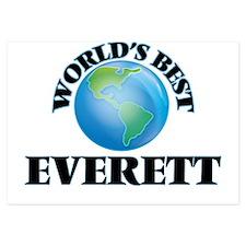 World's Best Everett Invitations