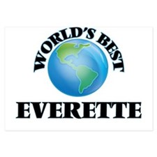 World's Best Everette Invitations