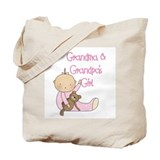 Grandma and Grandpa's Girl Tote Bag