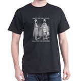 Masons meet on the level T-Shirt