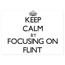 Keep Calm by focusing on Flint Invitations
