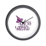 Chess Wizard Wall Clock