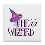 Chess Wizard Tile Coaster