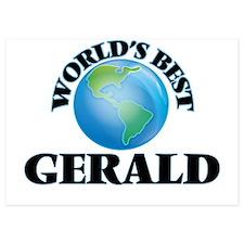 World's Best Gerald Invitations