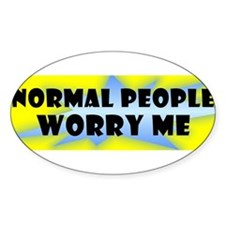 bumper normal people Decal