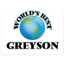 World's Best Greyson Invitations