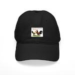 Dutch Bantam Time! Black Cap