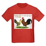 Dutch Bantam Time! Kids Dark T-Shirt