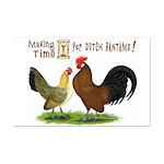 Dutch Bantam Time! Mini Poster Print