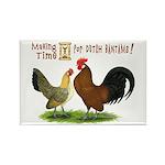 Dutch Bantam Time! Rectangle Magnet (100 pack)