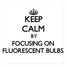 Keep Calm by focusing on Fluorescent B Invitations