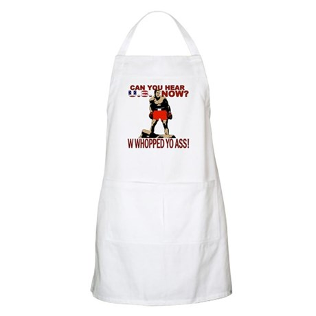 George Bush Can You Hear U.S. BBQ Apron