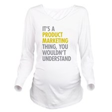 Product Marketing Th Long Sleeve Maternity T-Shirt