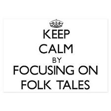 Keep Calm by focusing on Folk Tales Invitations