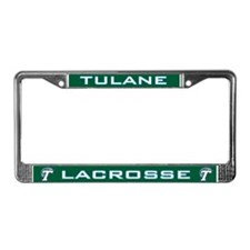 Tulane Lacrosse License Plate Frame