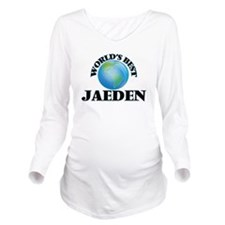 World's Best Jaeden Long Sleeve Maternity T-Shirt