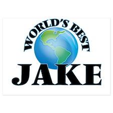 World's Best Jake Invitations