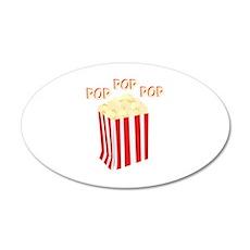 Pop Popcorn Wall Decal