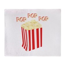 Pop Popcorn Throw Blanket
