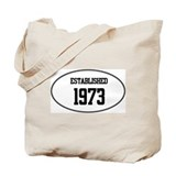 Established 1973 Tote Bag