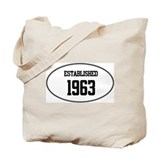 Established 1963 Tote Bag