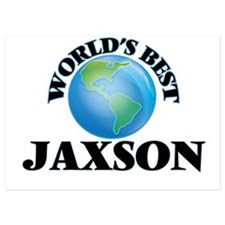 World's Best Jaxson Invitations