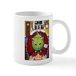 Alien Abduction Cat Mug