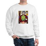 Alien Abduction Cat Sweatshirt