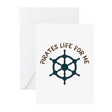 Pirates Life Greeting Cards